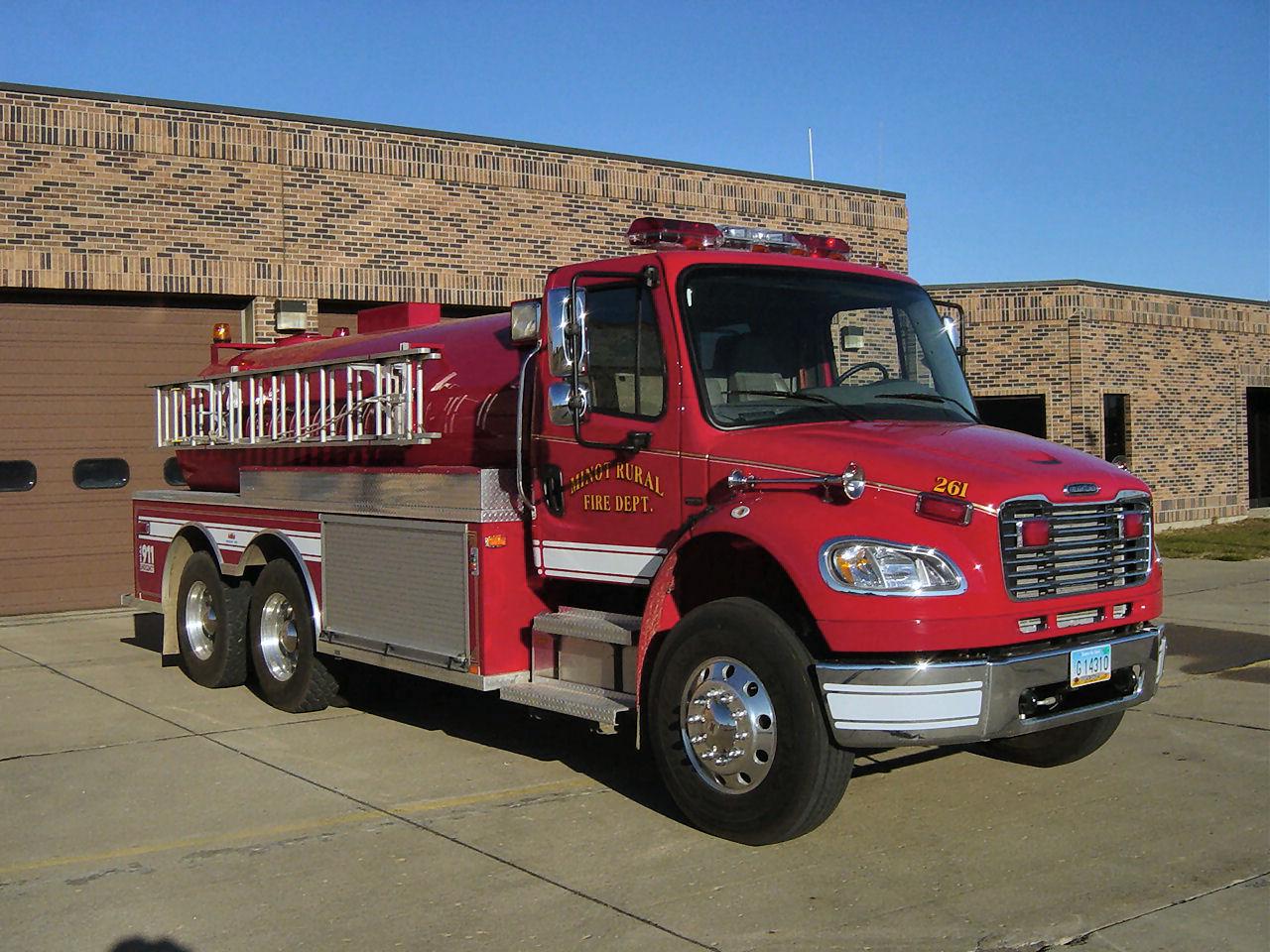 Minot Rural Fire Department - Apparatus
